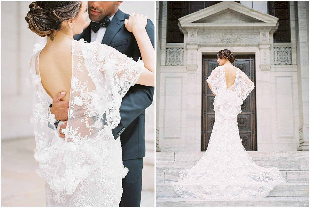 The different kinds of wedding dresses